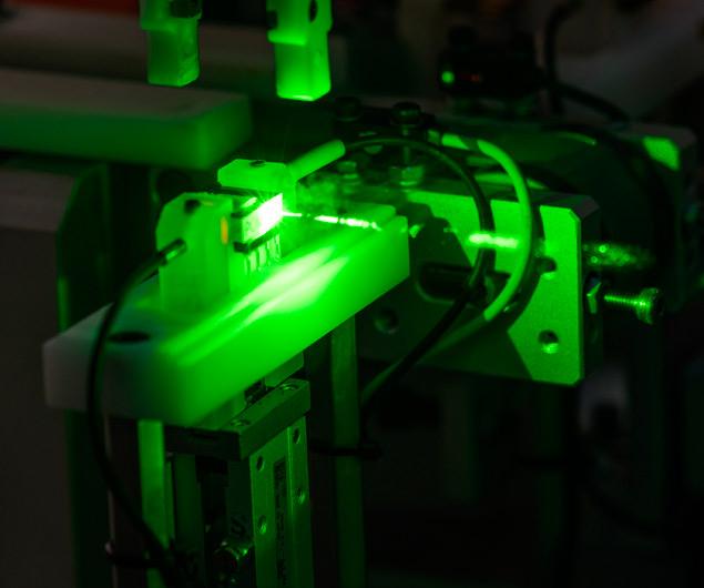 Proceso de fabricación con láser